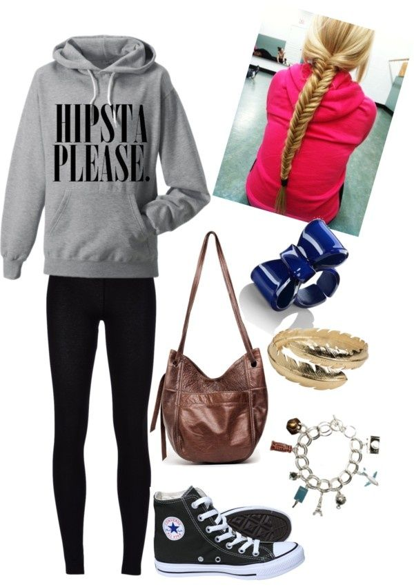 Pretty and stylish outfits for school girls 2018 34