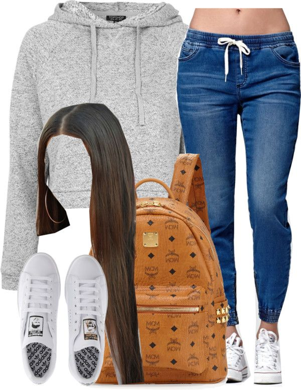 Pretty and stylish outfits for school girls 2018 35