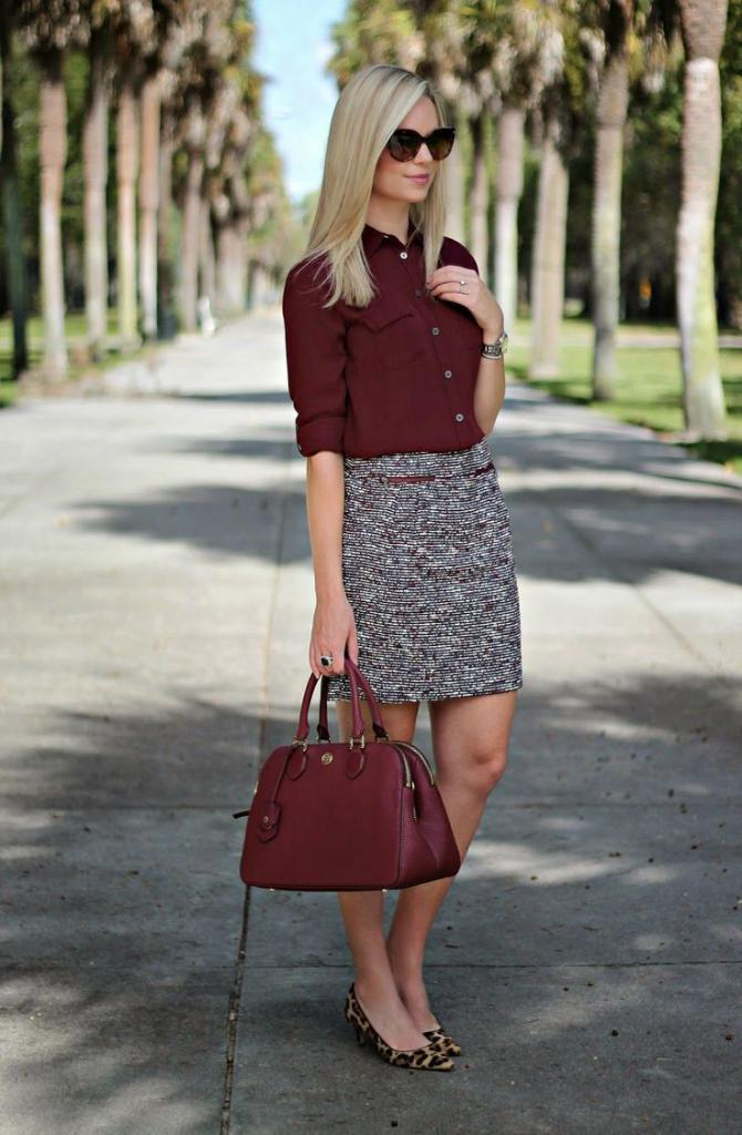 Sophisticated Office wear Skirt ideas 2018 18