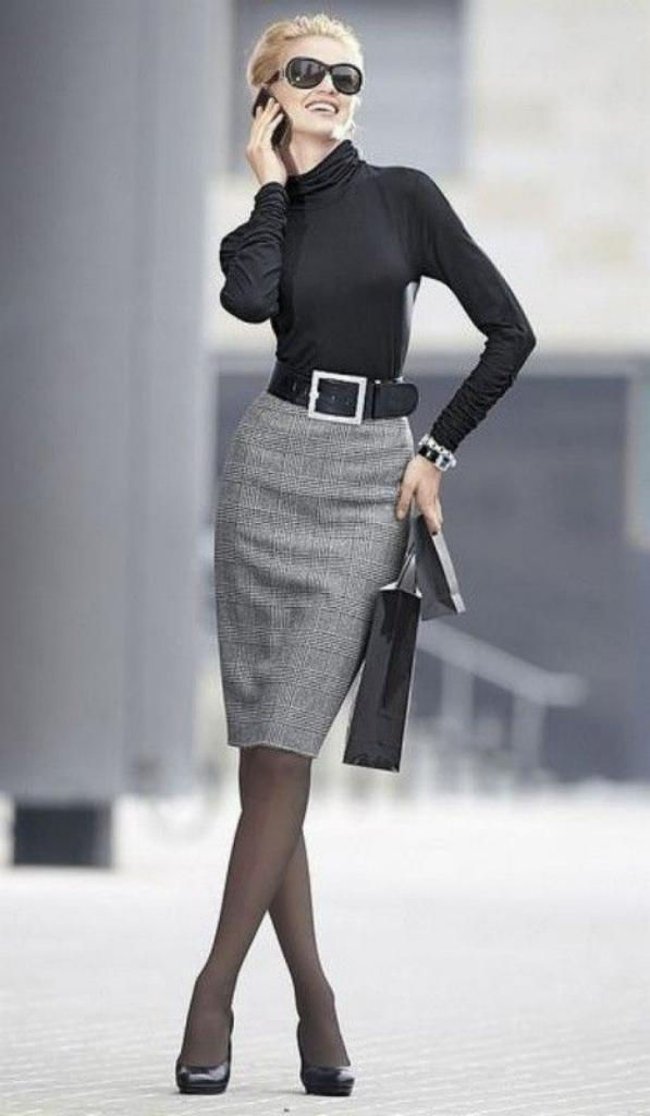 Sophisticated Office wear Skirt ideas 2018 29