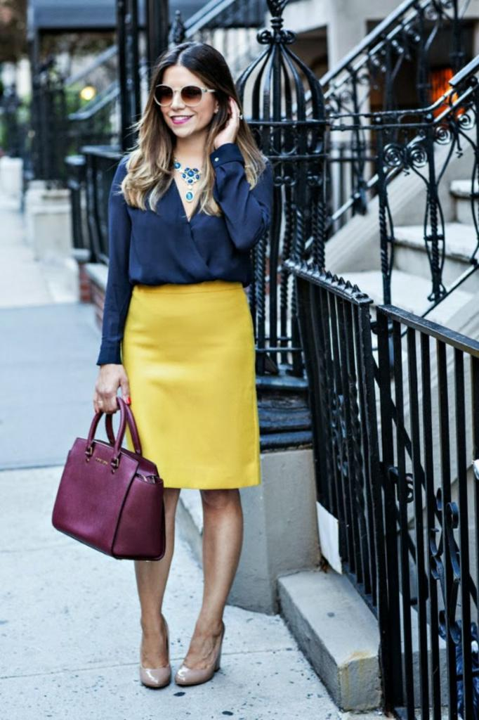 Sophisticated Office wear Skirt ideas 2018 6