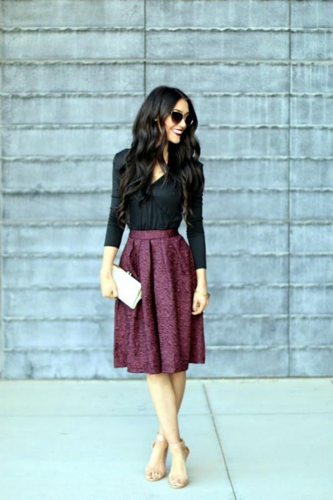 Sophisticated Office wear Skirt ideas 2018