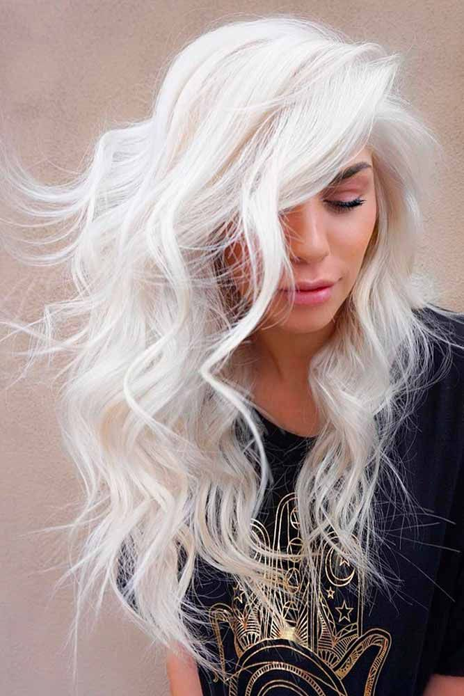 Grey Blue Hair Color Trend For Women 23