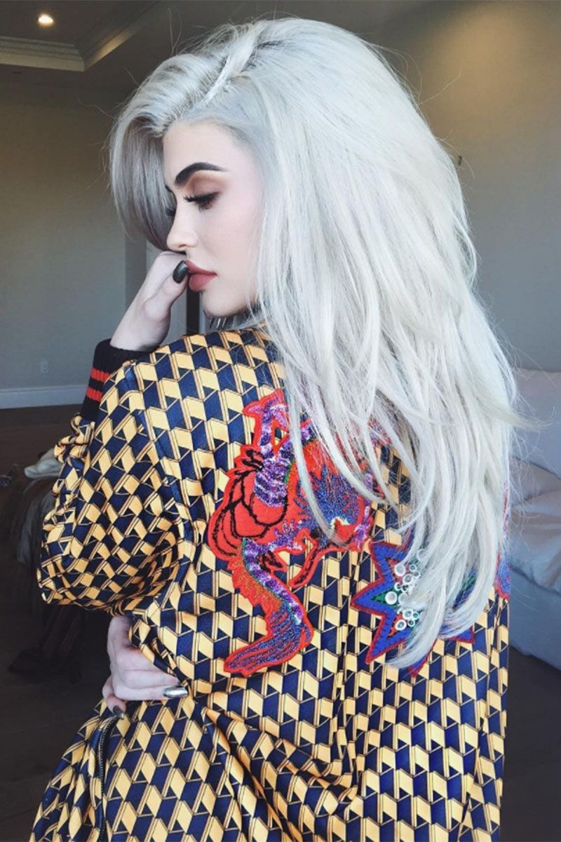 Grey Blue Hair Color Trend For Women 25