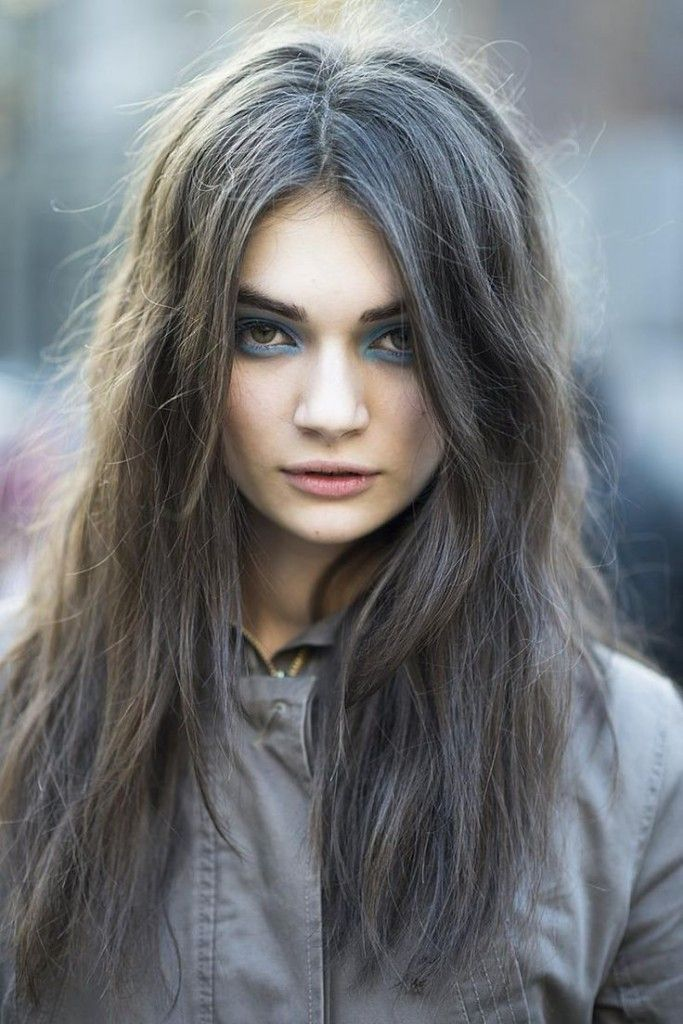 Grey Blue Hair Color Trend For Women 6