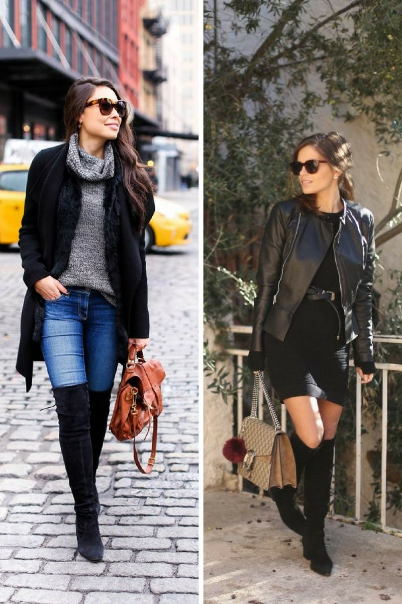 Stylish Over Knee Boots Fashion Ideas 2018 22