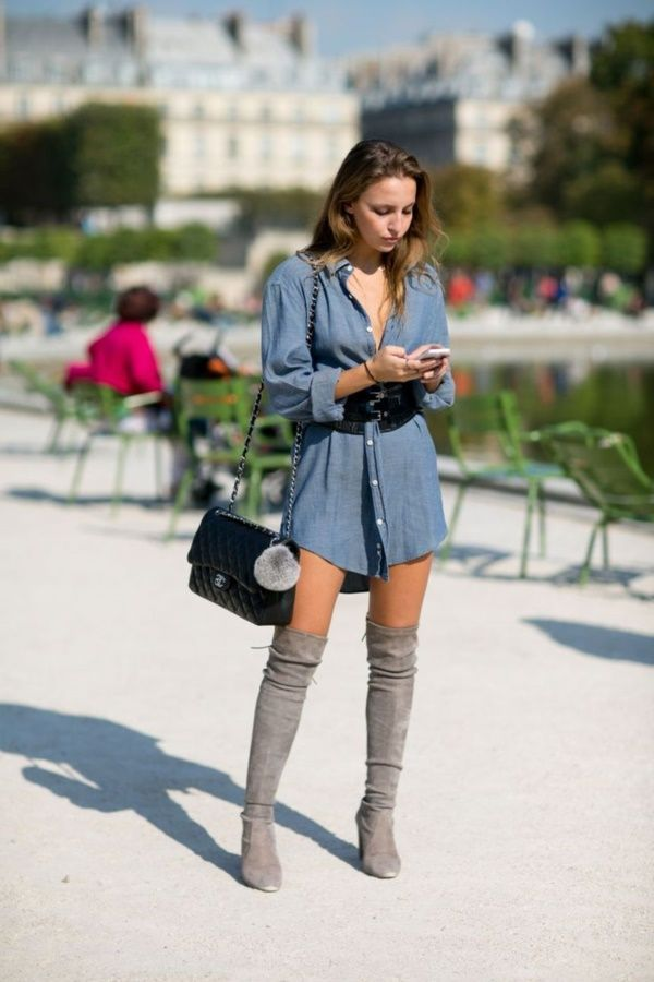 Stylish Over Knee Boots Fashion Ideas 2018 25
