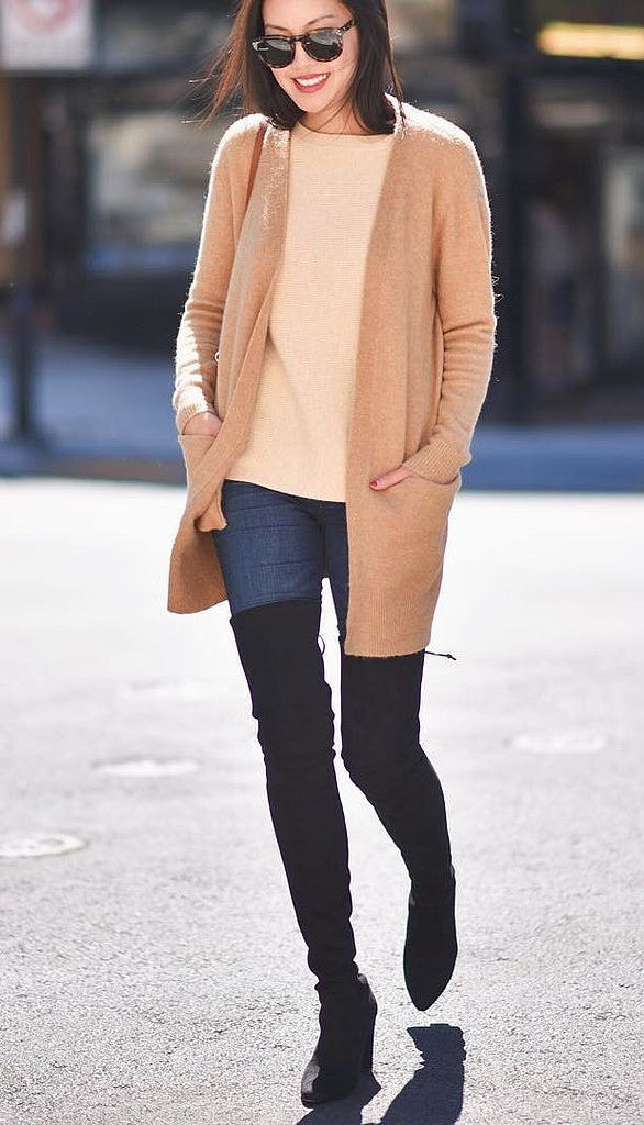 Stylish Over Knee Boots Fashion Ideas 2018 26