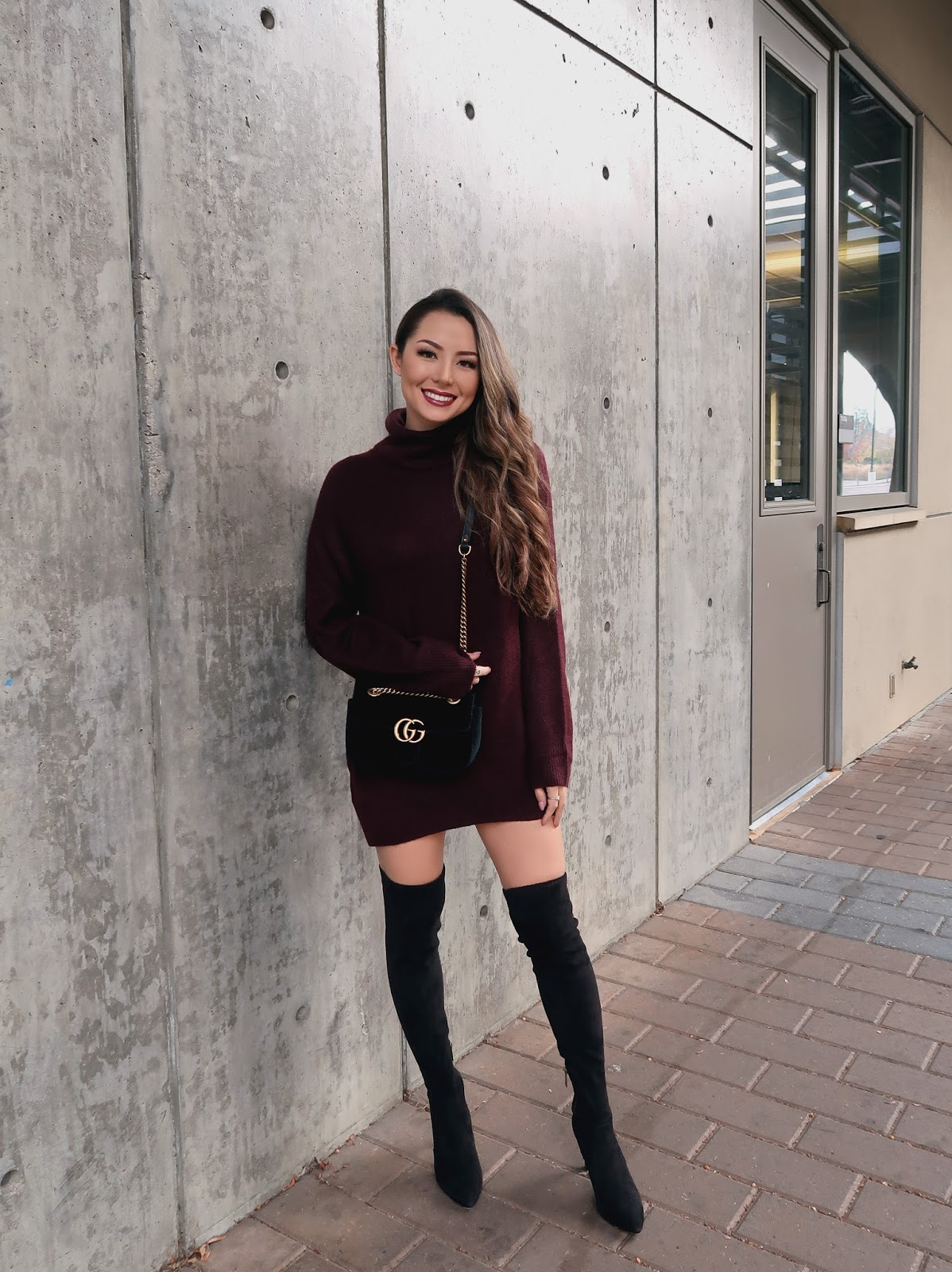 Stylish Over Knee Boots Fashion Ideas 2018 28