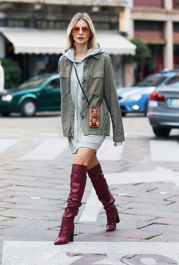 Stylish Over Knee Boots Fashion Ideas 2018 3