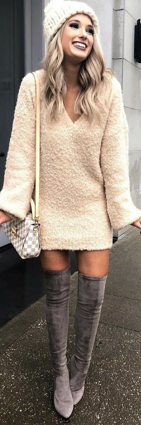 Stylish Over Knee Boots Fashion Ideas 2018 31