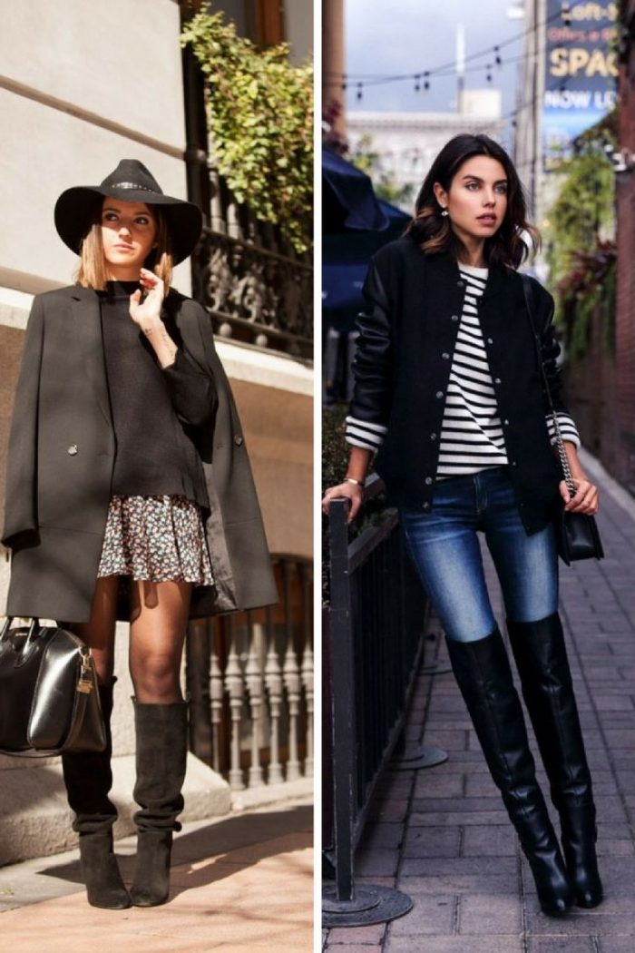 Stylish Over Knee Boots Fashion Ideas 2018 7
