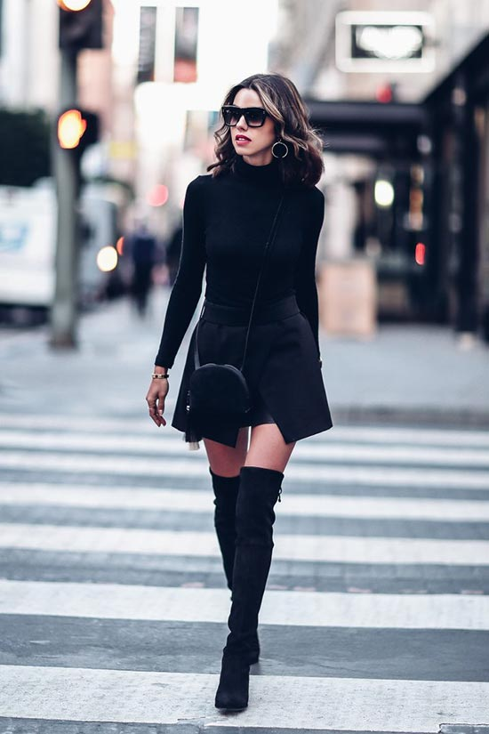 Stylish Over Knee Boots Fashion Ideas 2018 8