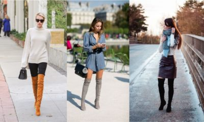 35 Stylish Over Knee Boots Fashion Ideas 2018