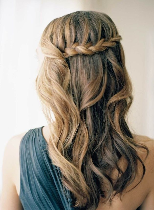 Stylish Waterfall Braid Hairstyles for Women 2018 14