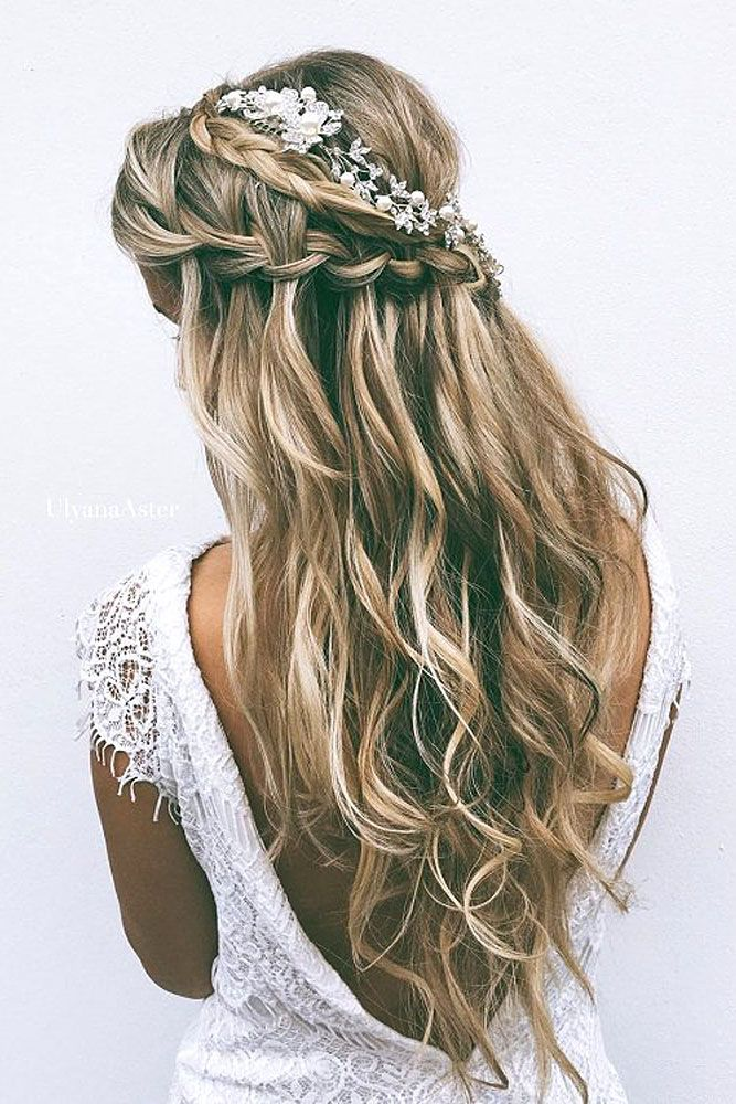 Stylish Waterfall Braid Hairstyles for Women 2018 16