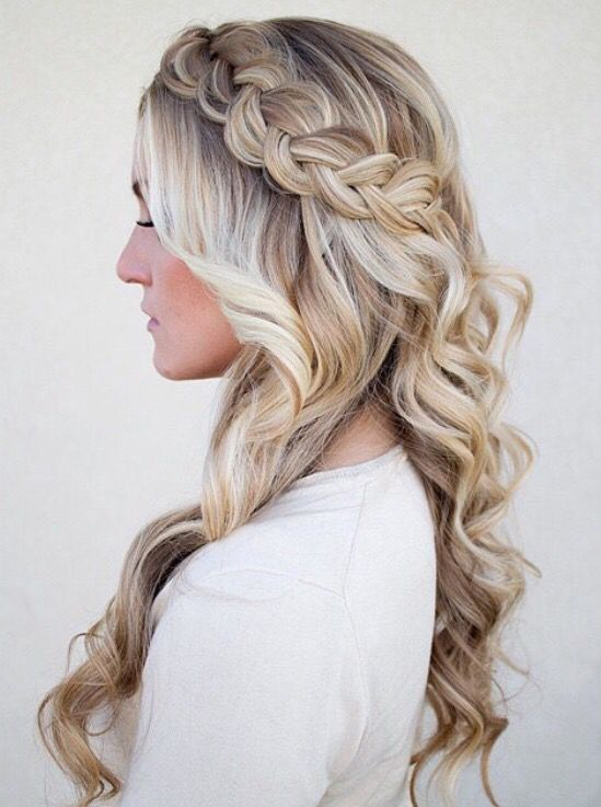 Stylish Waterfall Braid Hairstyles for Women 2018 6