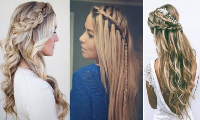 24 Stylish Waterfall Braid Hairstyles for Women 2018