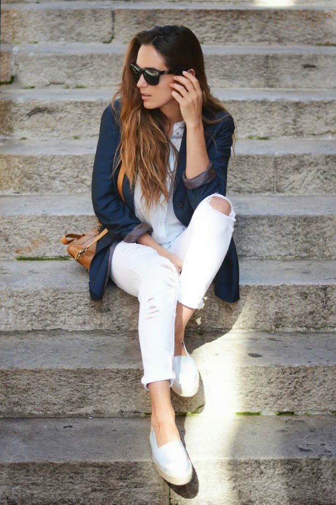 Wedges ideas to wear at office 2018 18