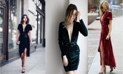 Amazing Velvet Dresses for this Season Feture