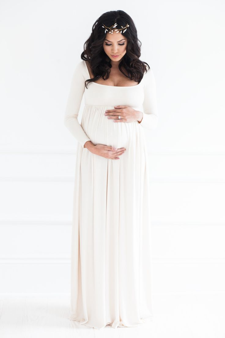 39af97c7e01 24 Beautiful Maternity Dresses For Baby Shower