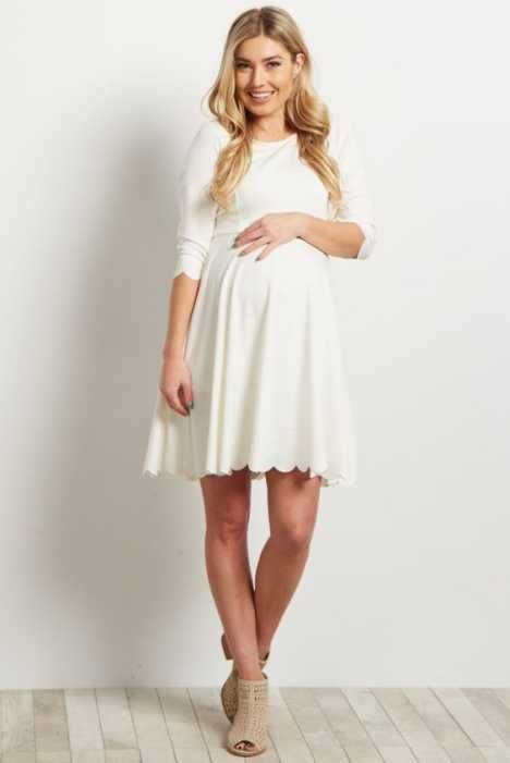 Beautiful Maternity Dresses For Baby Shower 5