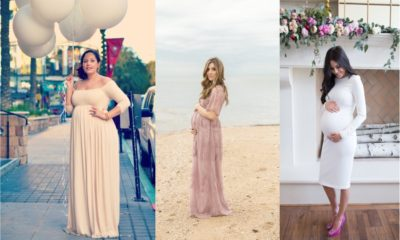 24 Beautiful Maternity Dresses For Baby Shower