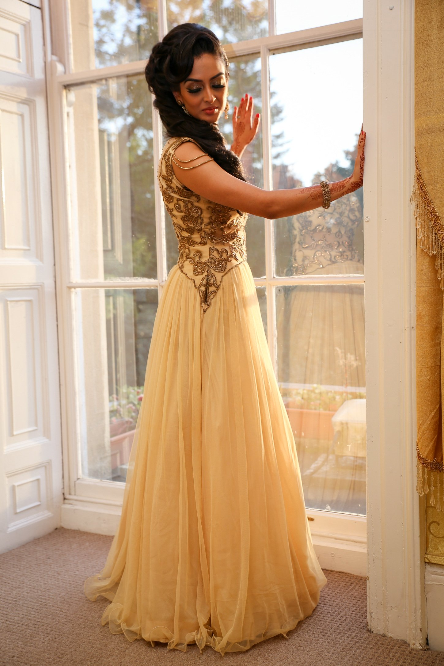 Bridal Outfit ideas for your reception 6