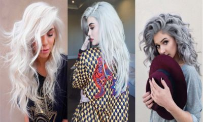 20 Grey Blue Hair Colour Trend For Women
