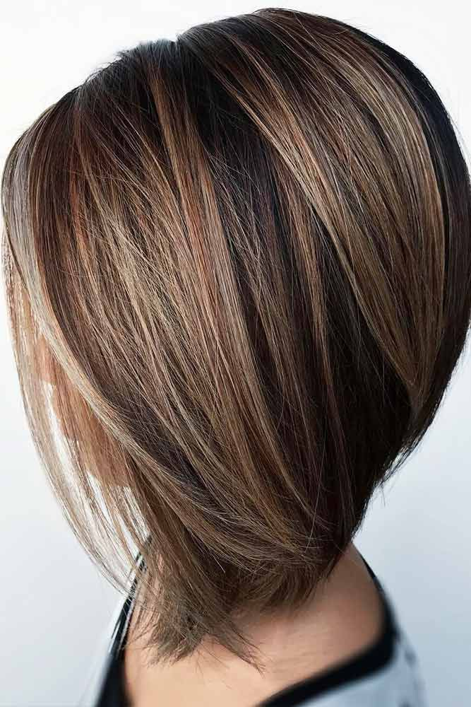 Stylish Inverted Bob Hairstyle Ideas for Women 10