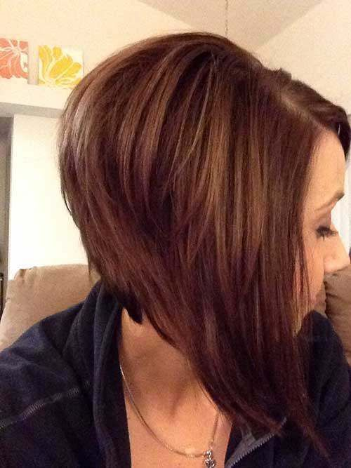 Stylish Inverted Bob Hairstyle Ideas for Women 19