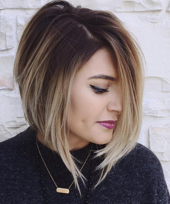 Stylish Inverted Bob Hairstyle Ideas for Women 25