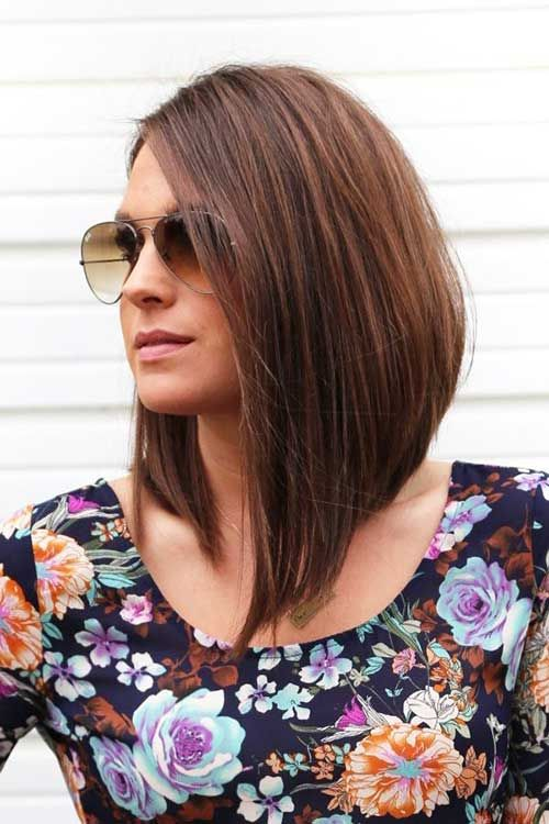 Stylish Inverted Bob Hairstyle Ideas for Women 26