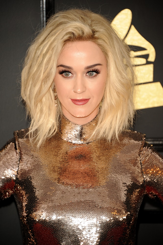 Gorgeous Katy Perry Hairstyles 9