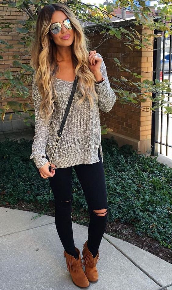 New Trendy Black Jeans Outfits Ideas For Women 10