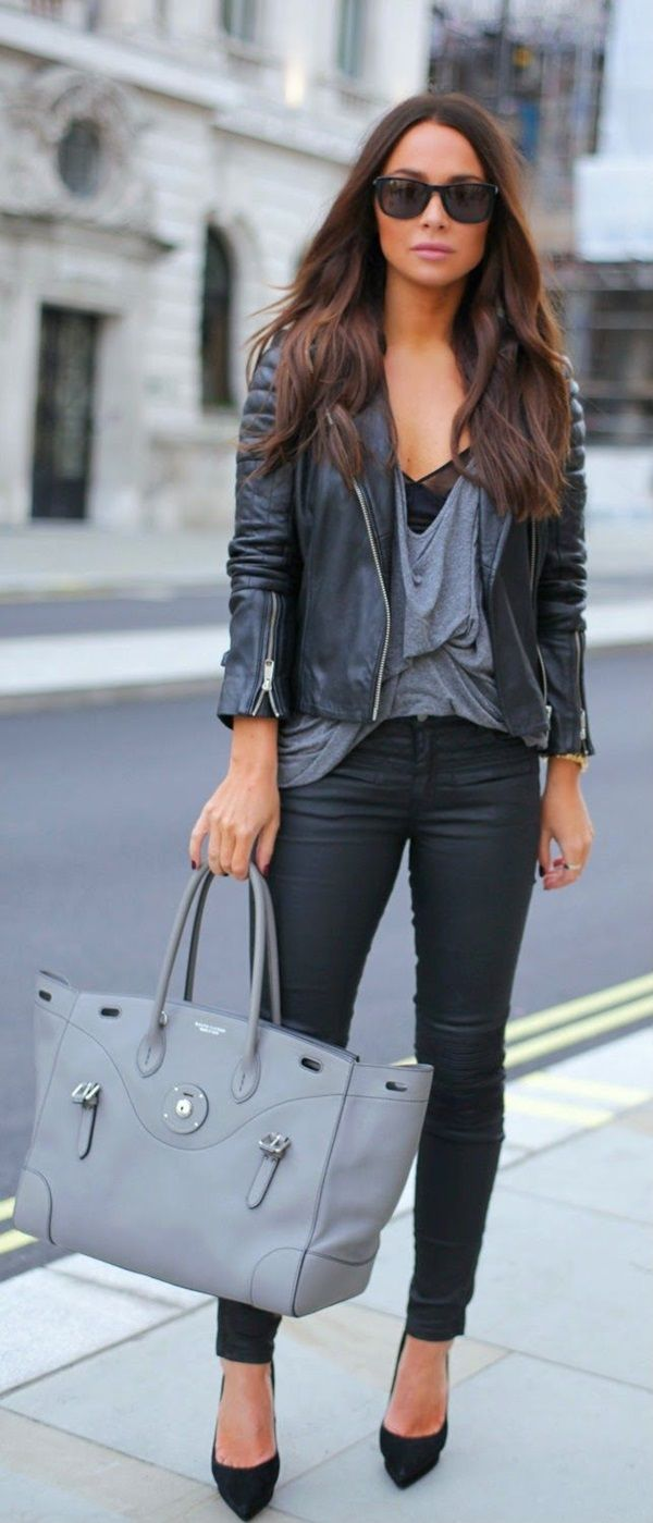 New Trendy Black Jeans Outfits Ideas For Women 19