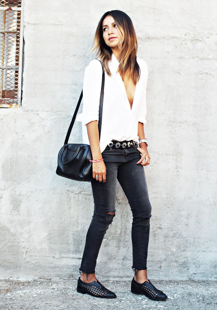 New Trendy Black Jeans Outfits Ideas For Women 20