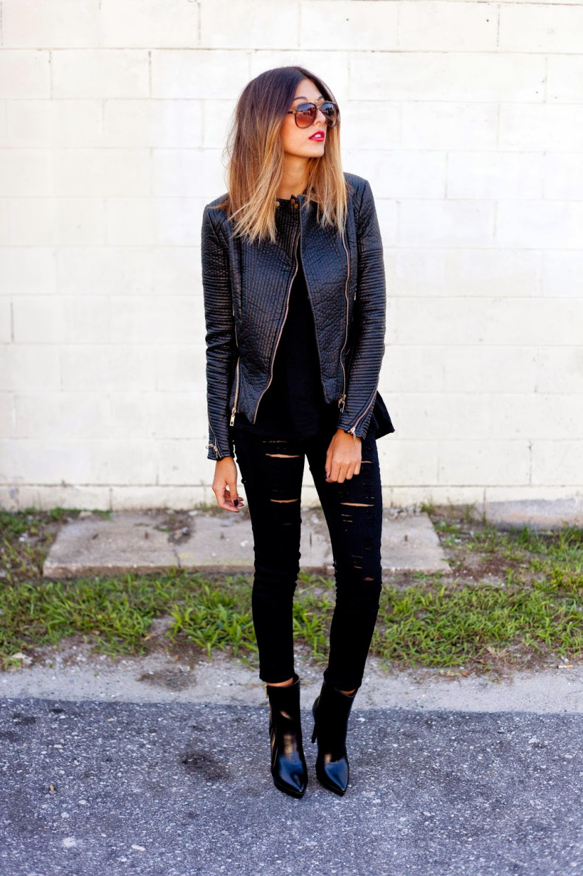 New Trendy Black Jeans Outfits Ideas For Women 9