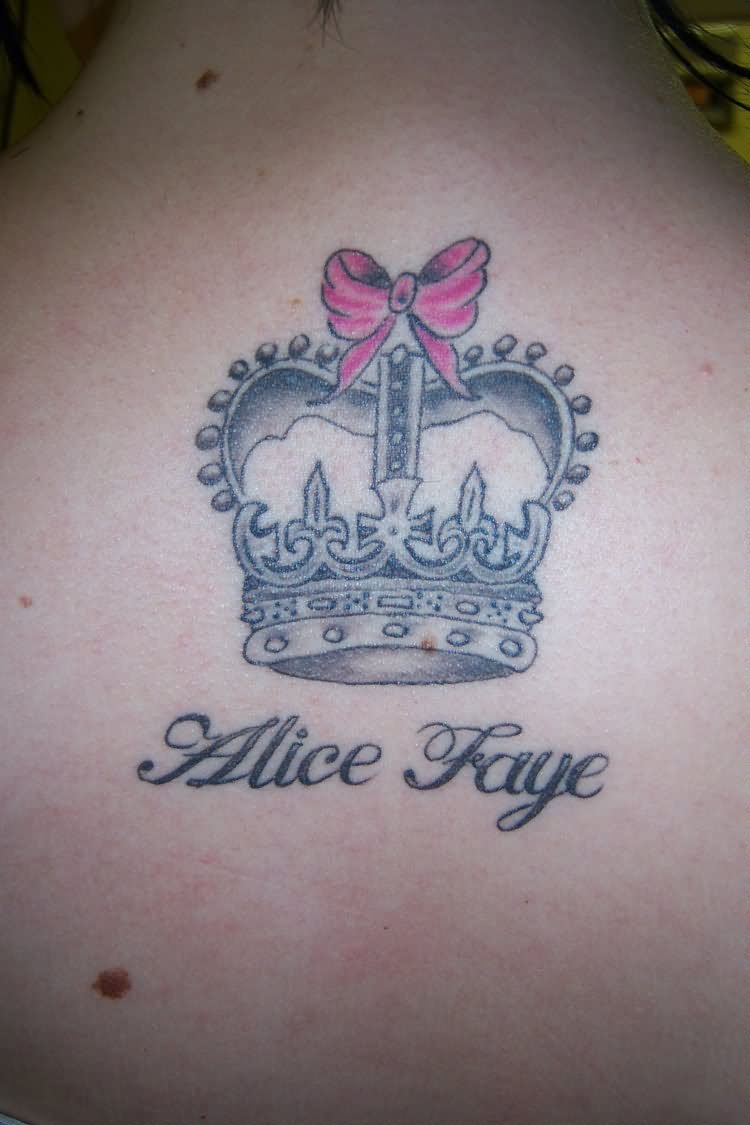 Awesome crown tattoo designs ideas 6