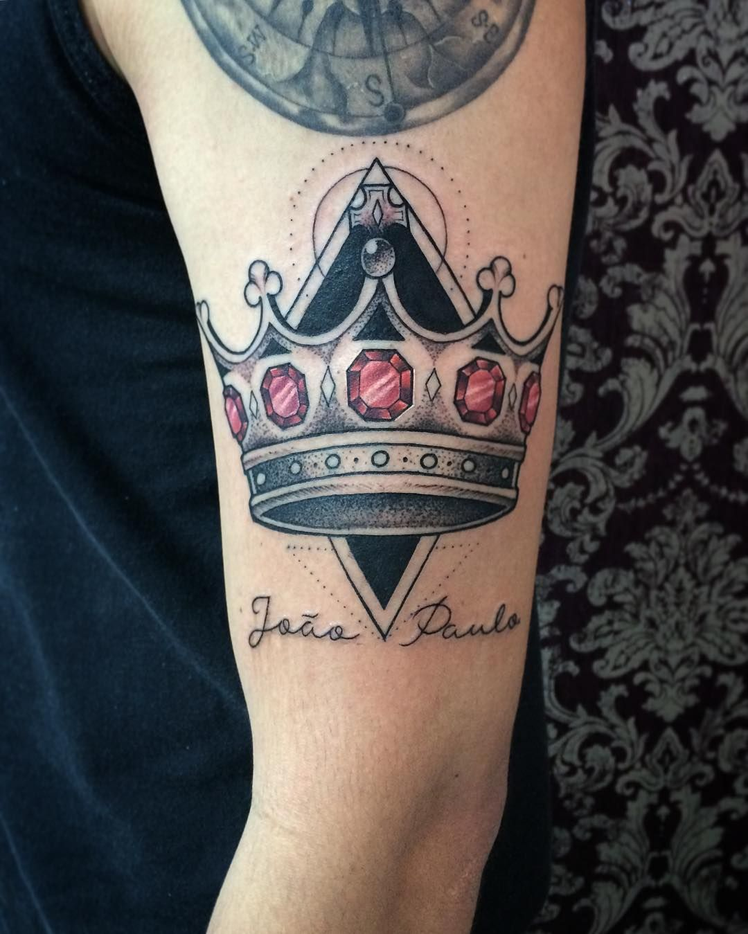 Awesome crown tattoo designs ideas