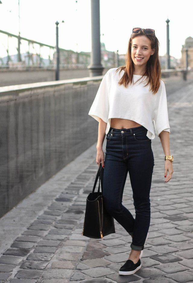 Fashionable High Waist Outfit Ideas