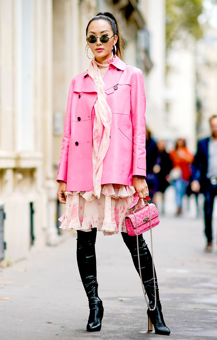 Ideas for girls to rock the pink bubble gum look 30