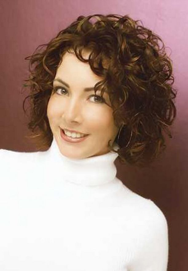 Latest Curly short hairstyles for women 5