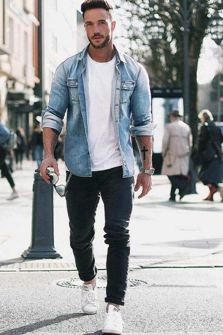 Stylish Men Outfits Look With Jeans 1