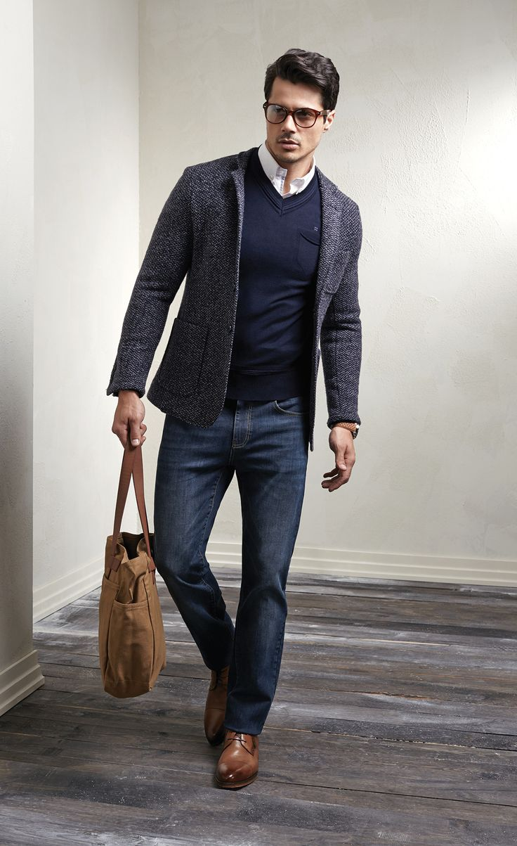 Stylish Men Outfits Look With Jeans 13