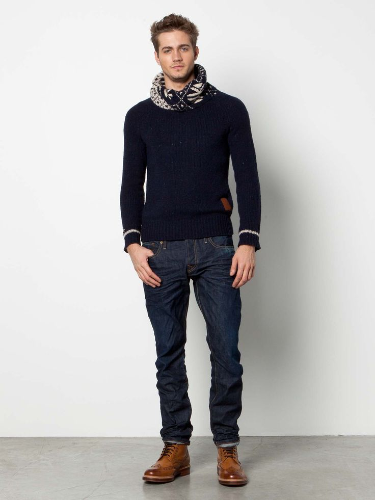 Stylish Men Outfits Look With Jeans 16