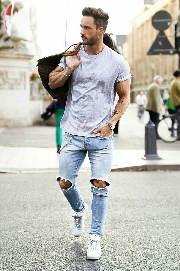 Stylish Men Outfits Look With Jeans 19