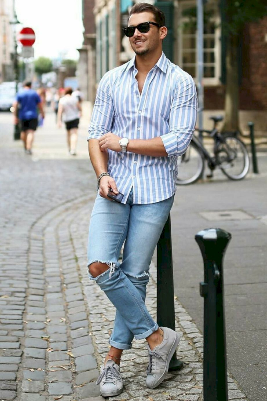 Stylish Men Outfits Look With Jeans 20