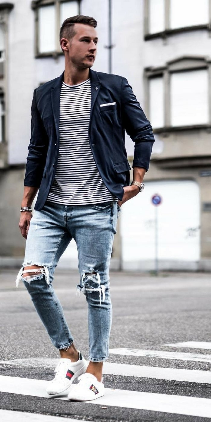 Stylish Men Outfits Look With Jeans 7