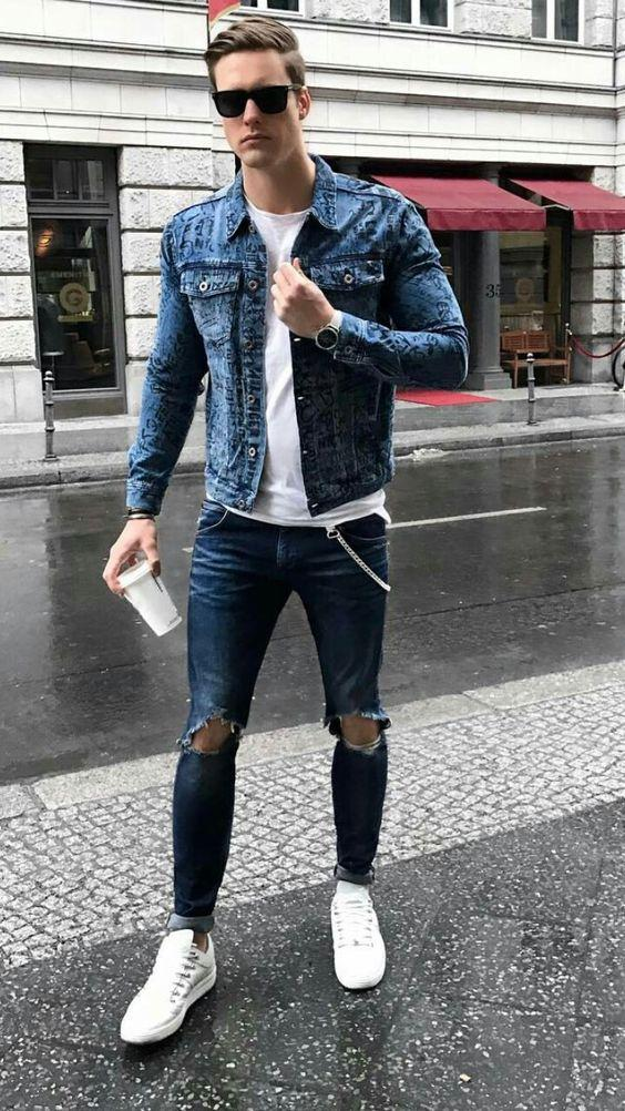 Stylish Men Outfits Look With Jeans